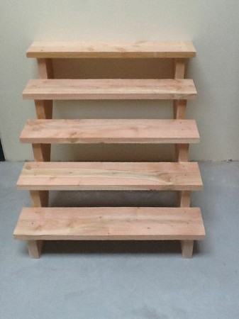 Douglas hout voor buiten materialen voor constructie for Trap buiten hout
